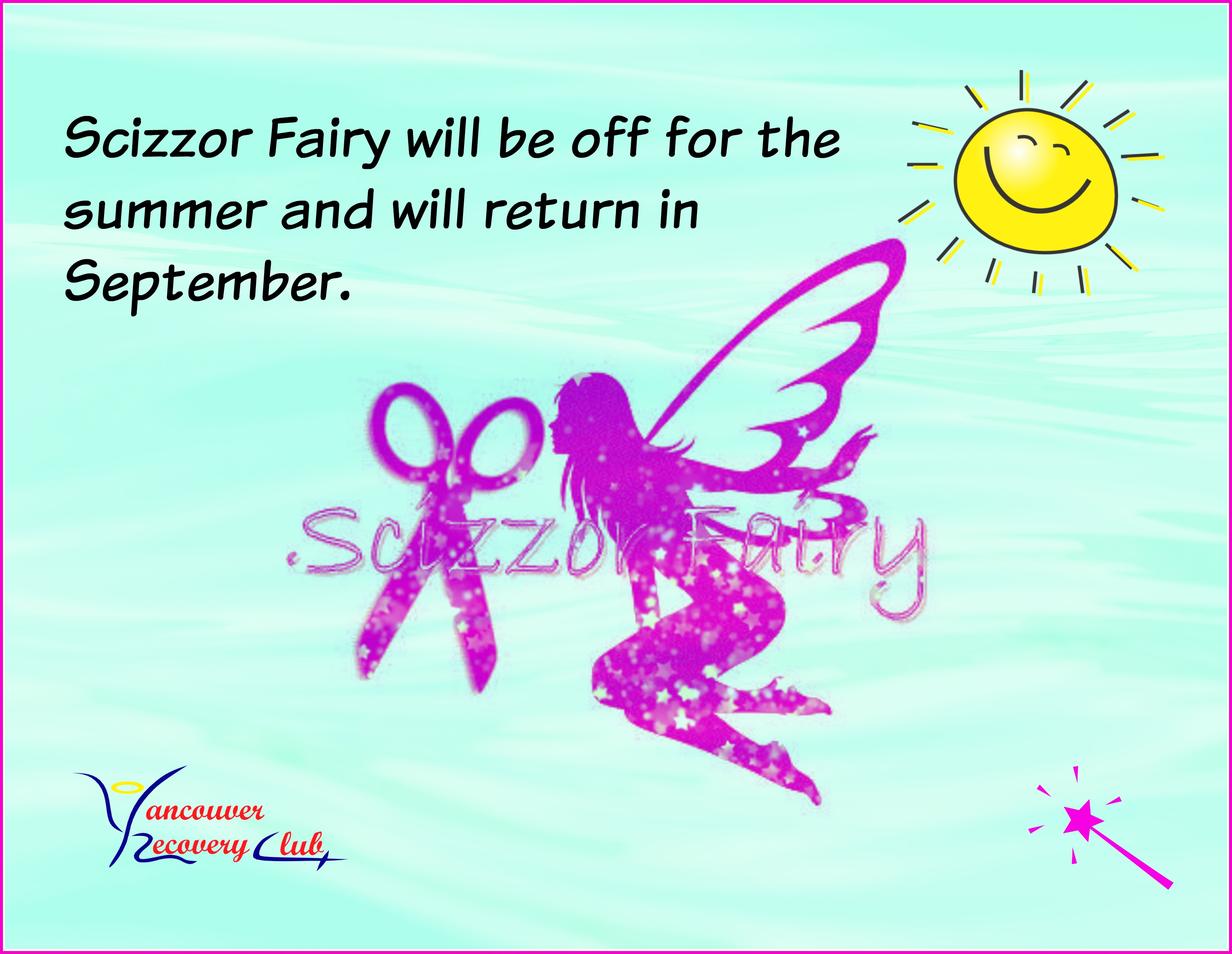 Scizzor Fairy Free Haircut Program Vancouver Recovery Club